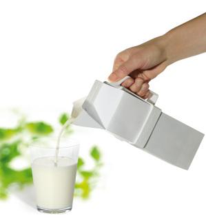 Handtag för mjölk- och juiceförpackningar - rektangulärt