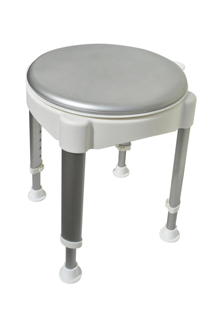 Duschstol med roterande sits