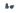 Doppsko till hopfällbar käpp, 18 mm, svart - 2 pack