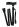 Käpp - hopfällbar, svart med handledsband