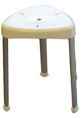 Duschstol - trekantig